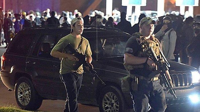 Remaja Tembak Mati 2 Demonstran, Beli Senjata Gunakan Uang Bantuan Covid-19: Tembak Sebelum Ditembak