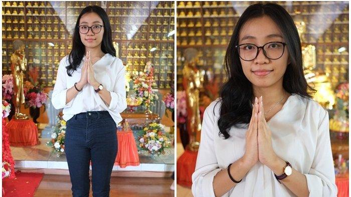 Gadis Cantik Lady Anggraeni Jaga Persatuan dan Toleransi di Manado