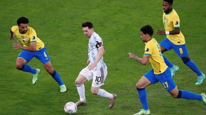 Tonton di Sini, Sedang Berlangsung Final Copa Amerika 2021, Argentina VS Brasil, Skor Sementara 1-0