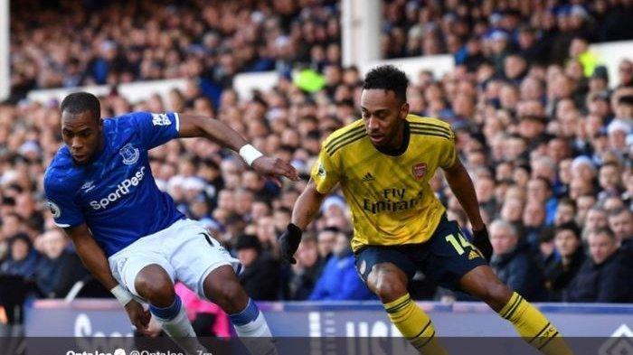 Hasil Liga Inggris - Everton Vs Arsenal Tanpa Gol