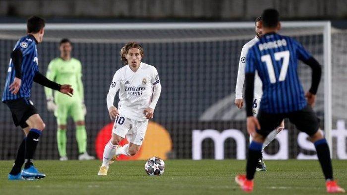 Hasil Liga Champions Real Madrid vs Atalanta, Los Blancos Melaju ke Perempat Final, Taklukan La Dea