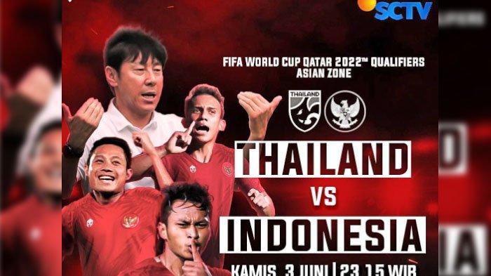 Thailand VS Indonesia, Berikut Prediksi Nama-nama Pemain yang Akan Diturunkan Shin Tae-yong