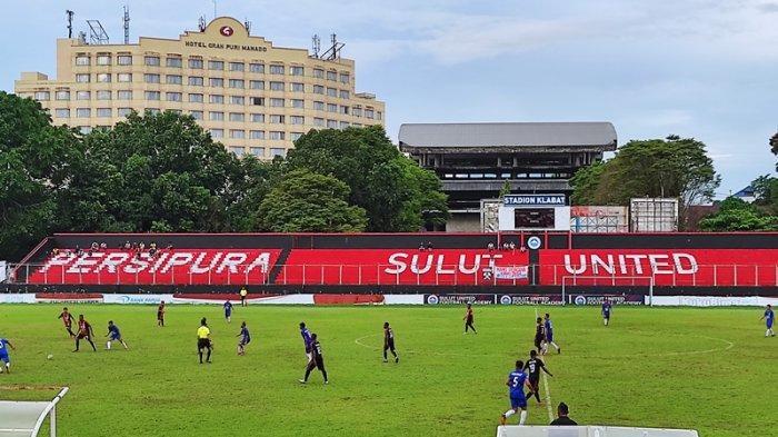 Tim PON Papua Taklukkan Tuan Rumah PON Sulut 2-0 di Stadion Klabat Manado