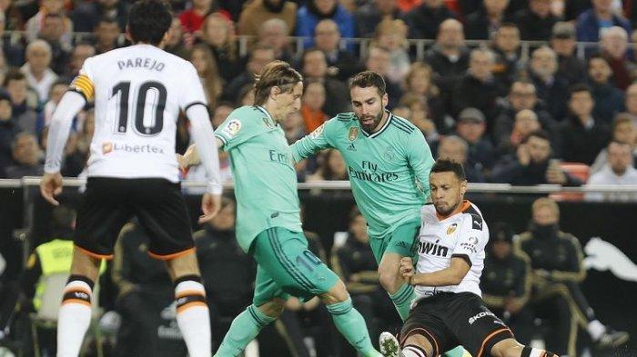 Hasil Sementara Babak Pertama Real Madrid Vs Valencia, Benzema dan Kroos Bawa Keunggulan Los Blancos