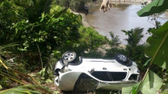 Kecelakaan Lalu Lintas di Jalan Trans Karakeleng Talaud, Supir Ngantuk hingga Mobil Masuk Jurang