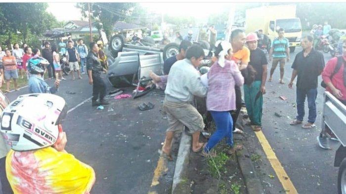 KECELAKAAN Maut di Jalan Trans Sulawesi, Ada 3 Korban Meninggal Dunia