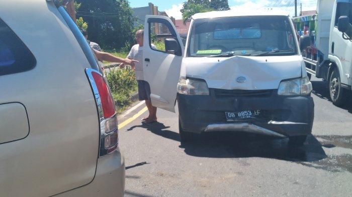 Kecelakaan di Jalan Trans Sulawesi, Amurang Timur, Minsel, Warga Berhamburan Keluar