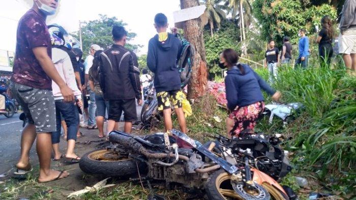 Kecelakaan Maut di Desa Lembean Kauditan, Polres Minut Sebut Pengemudi Mobil Diduga Mengantuk