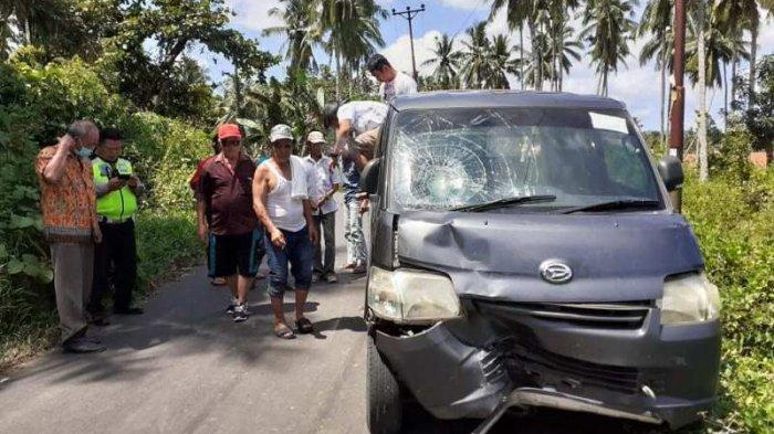 Kecelakaan Maut di Minahasa Selatan, Tubuh Yansen Terpental Membentur Mobil Lalu Jatuh ke Aspal