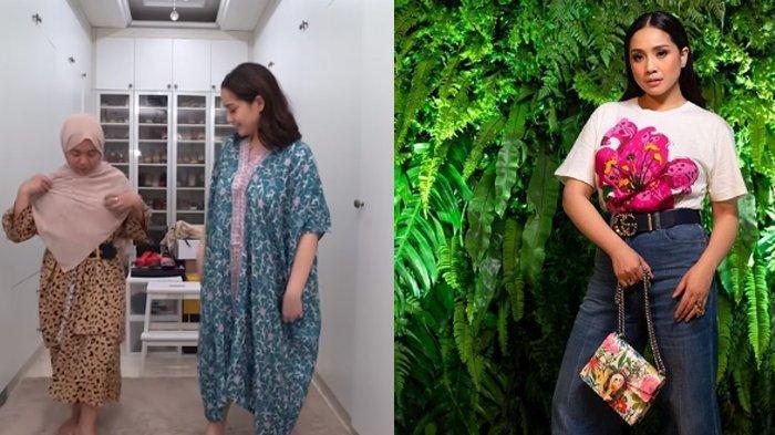 Begini Penampilan dan Reaksi Mbak Lala saat Pakai Baju yang Sama dengan Nagita Slavina