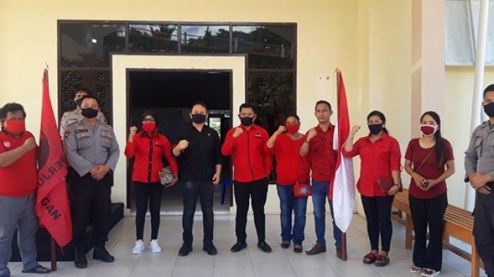 PDI Perjuangan Boltim Kecam Aksi Bakar Bendera Partai, Medy Lensun: Tempuh Jalur Hukum