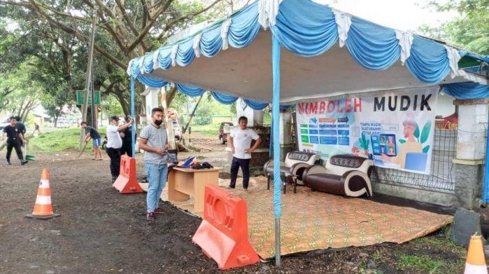 Larangan mudik oleh pemerintah mulai dijalankan di Kabupaten Minahasa Selatan (Minsel), Provinsi Sulawesi Utara.