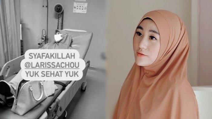 Larissa Chou Sempat Dilarikan ke RS, Begini Kabar Mantan Istri Alvin Faiz Sekarang
