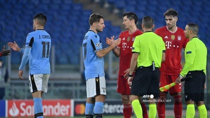 Babak 16 Besar Liga Champion, Lazio Berjuang atau Dibantai Dikandang Bayern Munchen, Ini Link