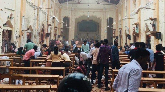 Pemerintah Sri Lanka Umumkan Dua Pelaku Pembunuhan Bom Gereja saat Paskah, Ini Identitasnya