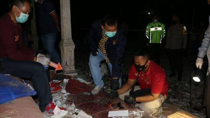 Ledakan Petasan di Ngabean Kebumen, Jawa Tengah, Rabu 12 Mei, kemarin sore jelang buka puasa. Taufik Hidayat tewas.