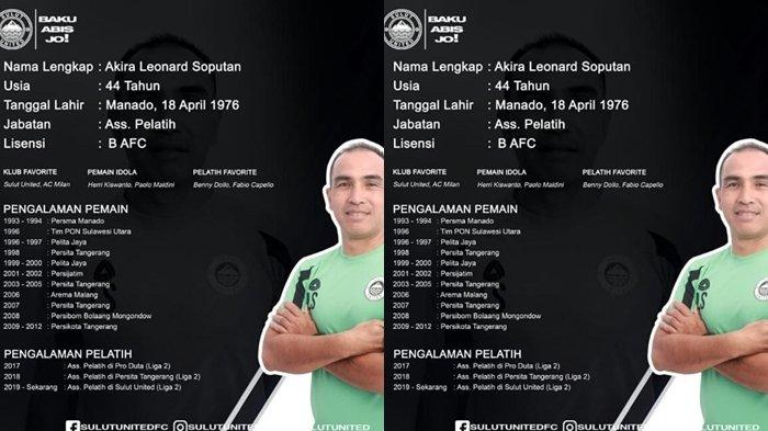 Sulut United FC: Almarhun Leo Soputan Sosok tegas, Disiplin dan Tanpa Kompromi