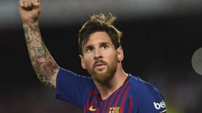 (VIDEO) Messi Injak Kaki Kiri Bek Sociedad Terseret Sampai Keluar Lapangan, Lihat Posisi Kaki & Bola