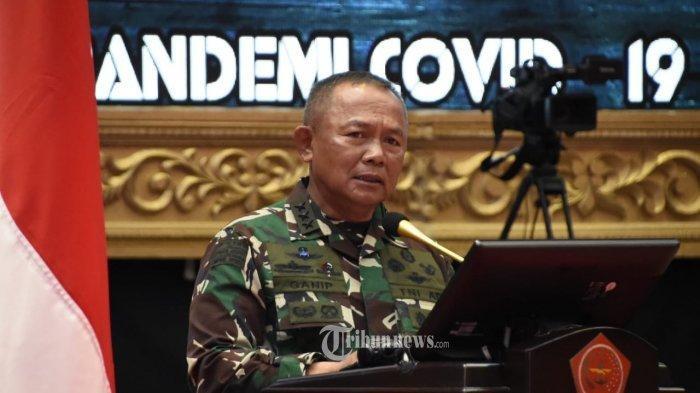 Letjen TNI Ganip Warsito dilantik jadi Kepala BNPB.