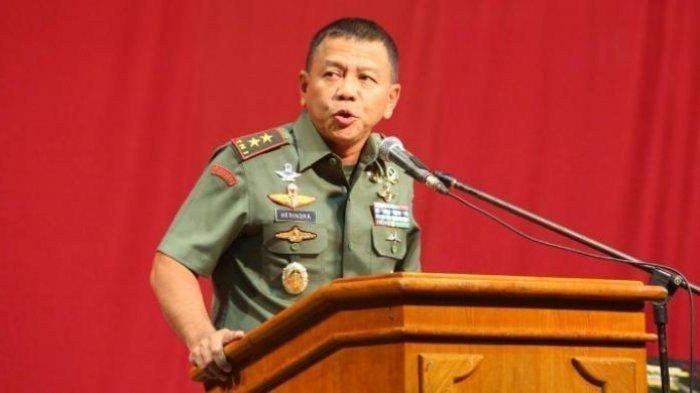 Letjen TNI M Herindra saat menjabat Pangdam III Siliwangi.