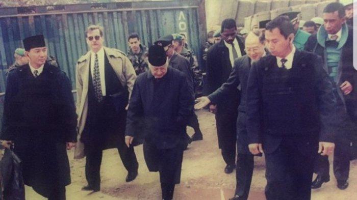 Masih Ingat Sjafrie Sjamsoeddin Paspampres Soeharto? Dulu Nyaris Baku Tembak Saat Bertemu PM Israel