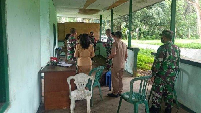 Letkol Inf Benny Lesmana meninjau Kesiapan Lokasi Latma Garuda Shield - 15/2021.