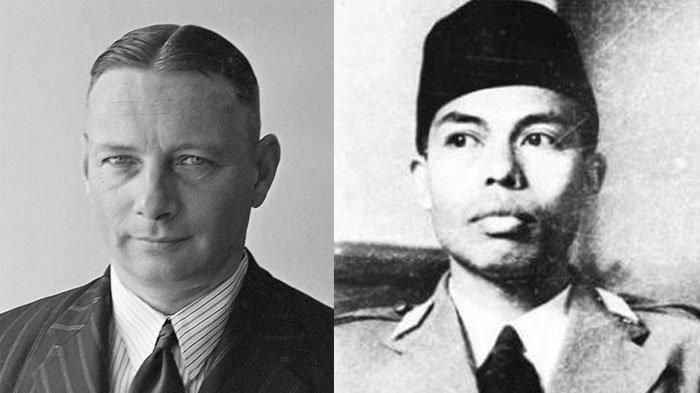 Letnan Jenderal Simon Hendrik Spoor (kiri), Jenderal Besar Soedirman (kanan).
