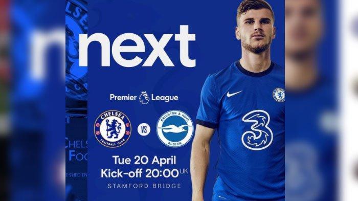 TONTON <a href='https://manado.tribunnews.com/tag/liga-inggris' title='LigaInggris'>LigaInggris</a> di Sini, Klik Link Live Streaming <a href='https://manado.tribunnews.com/tag/chelsea' title='Chelsea'>Chelsea</a> vs <a href='https://manado.tribunnews.com/tag/brighton' title='Brighton'>Brighton</a>