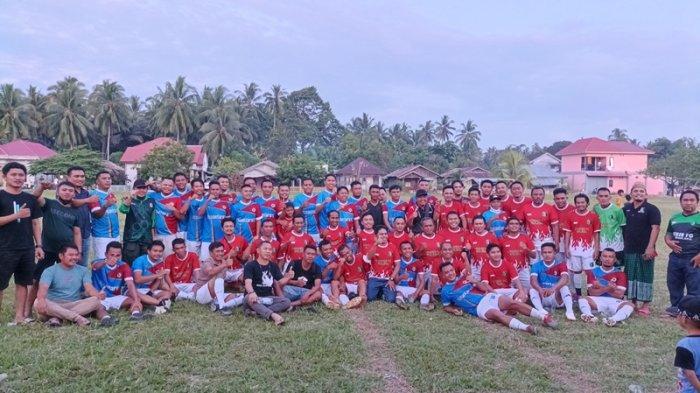 Hasil Liga Silaturahmi Aktivis Muslim Bolsel, Nusantara FC Kalahkan Yakusa FC 4-2