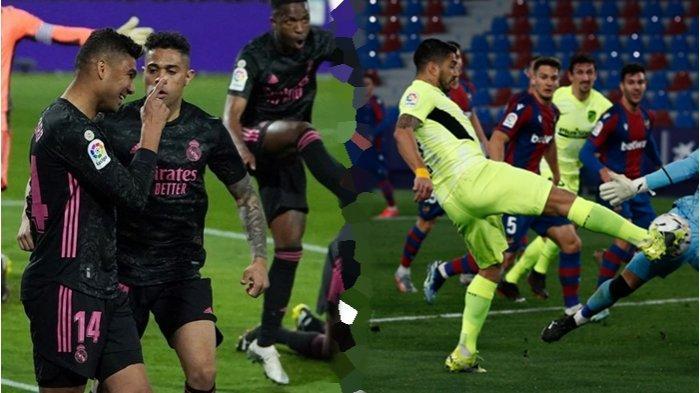 HASIL dan KLASEMEN Liga Spanyol Pekan ke-24: Real Madrid Menang, Atletico Keok, Barcelona Membuntuti