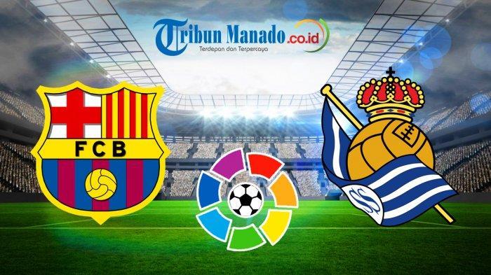 Liga Spanyol - Prediksi dan Link Live Streaming Barcelona vs Real Sociedad, Minggu 21 April 2019