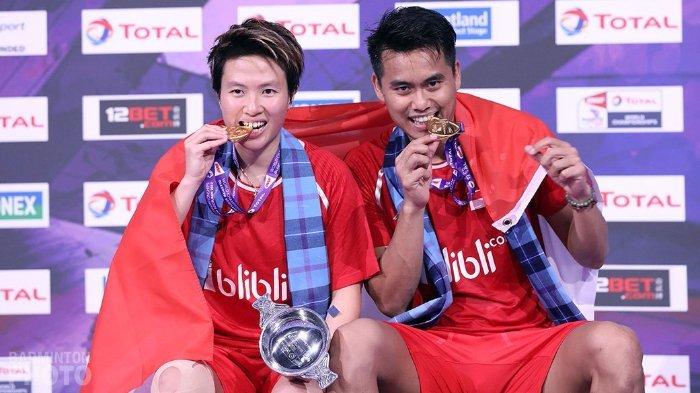 Tontowi Ahmad dan Liliyana Natsir Gagal Jadi Juara Indonesia Masters 2019