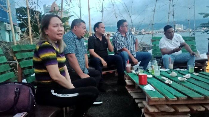 Sejumlah Legislator di Manado Takjub dengan Taman yang Dibuat Pemkot di Kawasan Mega Mas