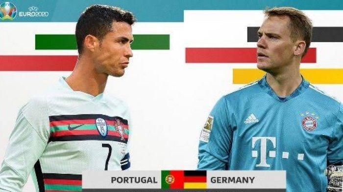 Link Streaming Euro 2020 Portugal vs Jerman, Apakah Cristiano Ronaldo Cs Mampu Taklukan Der Panzer?