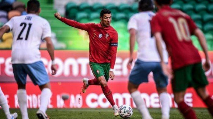 SEDANG BERLANGSUNG LIVE STREAMING RCTI Hungaria vs Portugal Euro 2020, Tonton Aksi Ronaldo di Sini
