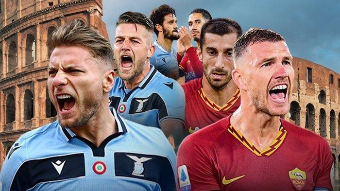 Link live streaming laga <a href='https://manado.tribunnews.com/tag/lazio-vs-as-roma' title='Lazio vs AS Roma'>Lazio vs AS Roma</a>