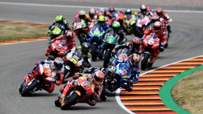 SEMENTARA BERLANGSUNG MotoGP 2021 Jerman, Marc Marquez Terdepan, Tinggalkan Jauh Posisi 2