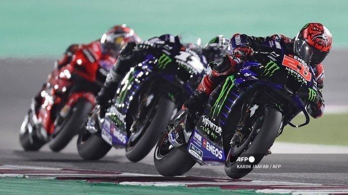 LINK Live Streaming MotoGP Prancis 2021, Pembalap Yamaha Start di 2 Posisi Depan, Akses di Sini