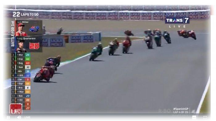 LINK LIVE STREAMING MotoGP Spanyol di Trans7, Sedang Berlangsung, Tonton via Ponsel Anda, Gratis!