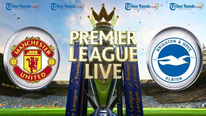LINK LIVE Streaming Liga Inggris Brighton vs Manchester United, Malam Ini Sabtu 26/09