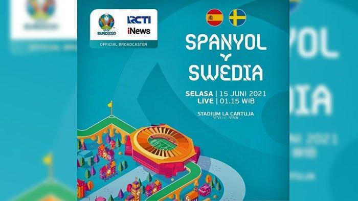 LINK Live Streaming Spanyol VS Swedia, Laga Seru Grup E <a href='https://manado.tribunnews.com/tag/euro-2021' title='Euro2021'>Euro2021</a>
