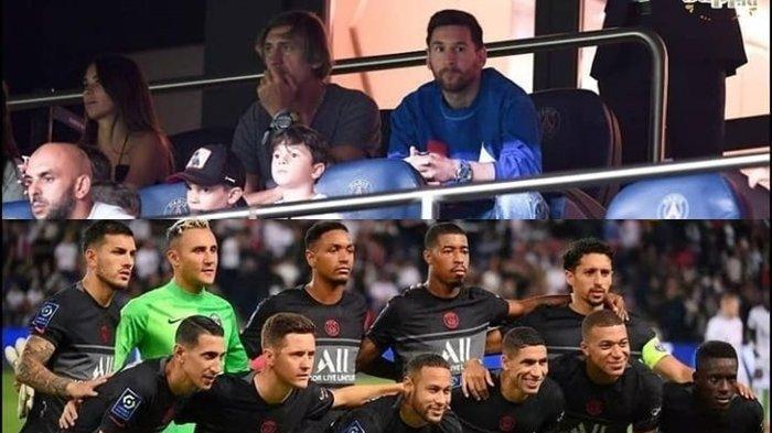 Lionel Messi Duduk ManisSaksikan PSG Menggasak Montpellier, Diistirahatkan Hadapi Man City di UCL?