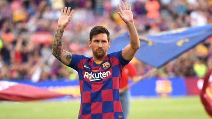 Lionel Messi Resmi Hengkang dari Barcelona