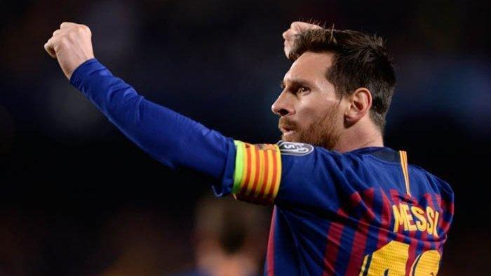 Lionel Messi Lakukan Hal Mustahil di Latihan Barcelona