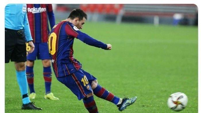 Lionel Messi dan Barcelona Dibantai PSG di Liga Champions, Hasil Pertandingan Skor Telak 4-1