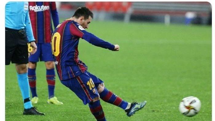 Hasil Barcelona vs Cadiz,Gol Penalti Alex Fernandez Menit 89 Gagalkan Kemenangan Messi cs