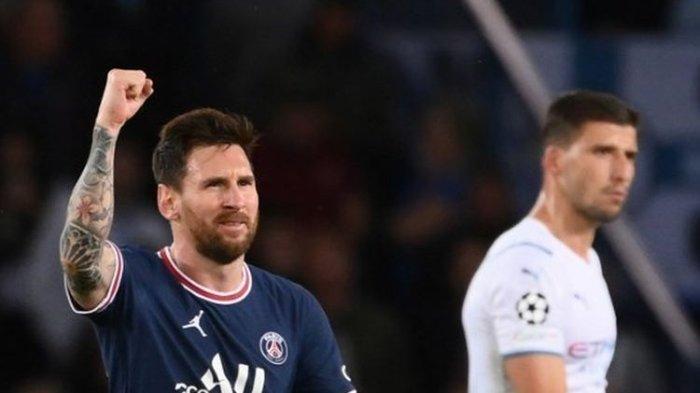 HASIL PSG vs Man City, Le Parisien Kalahkan The Citizens, Messi Buat Paris Saint-Germain Menang 2-0