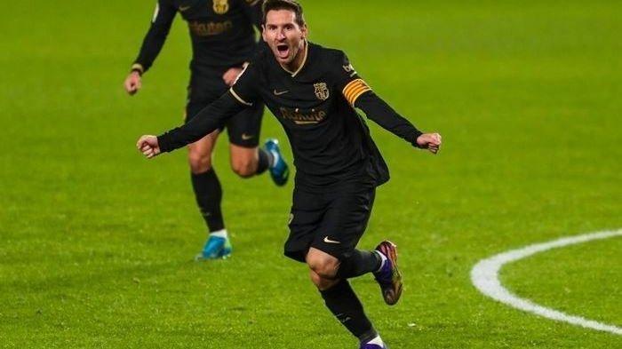 Hasil Liga Spanyol: Messi Masuk dari Bangku Cadangan dan Cetak Gol, Barcelona Tak Jadi Kalah