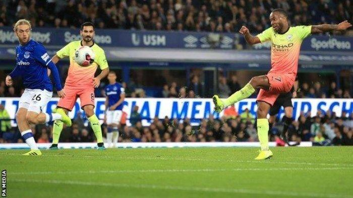 Live Streaming Everton vs Manchester City, Liga Inggris Pekan Pekan 25, Gundogan Absen, Live Mola TV
