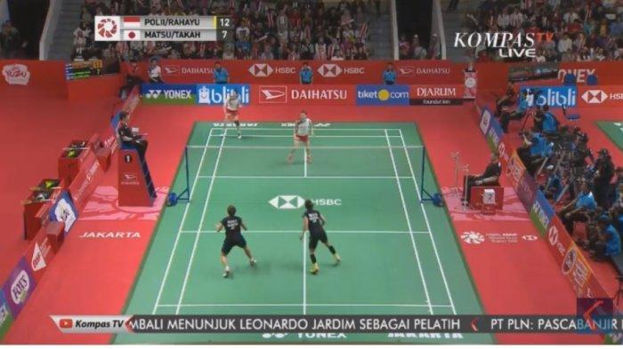 SEDANG BERLANGSUNG! Live Streaming Kompas TV! Badminton Indonesia Masters 2019, Tonton di Ponsel!